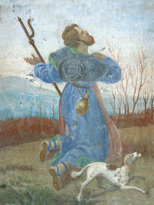 dipinto-su-lamiera-di-san-rocco