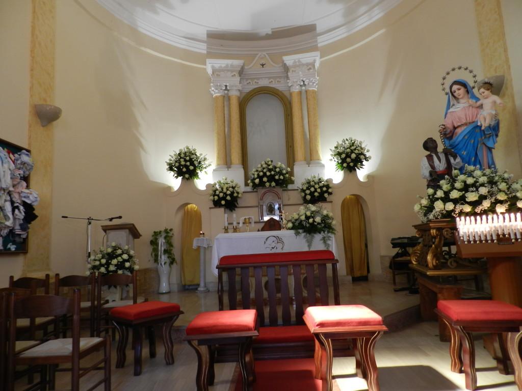 interno chiesa matrimonio